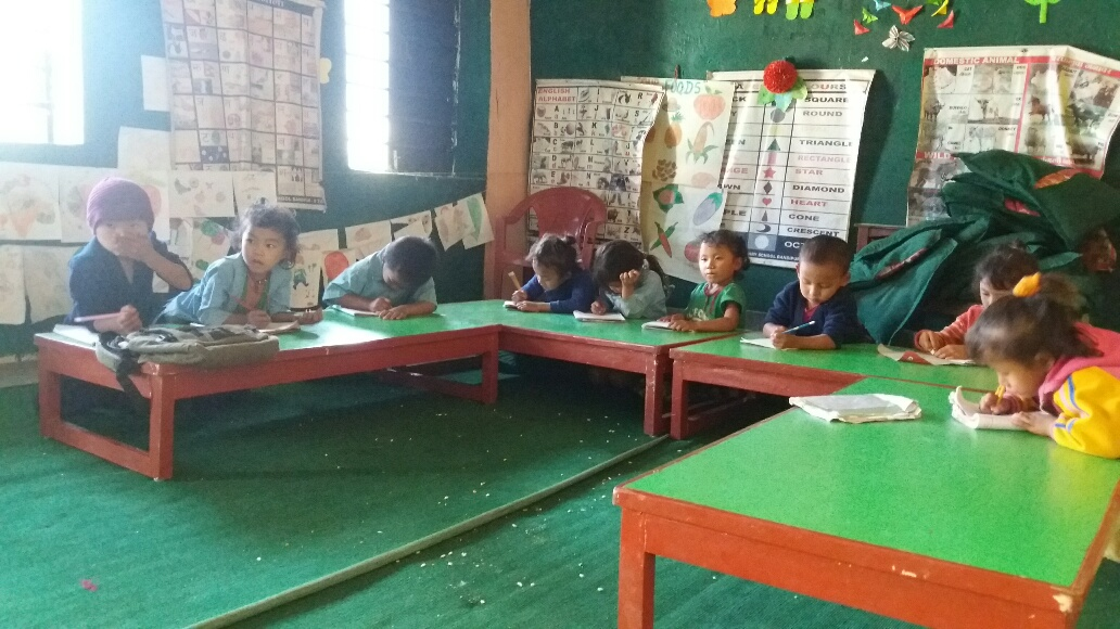 Room to read in the school - The Aandhimul Project