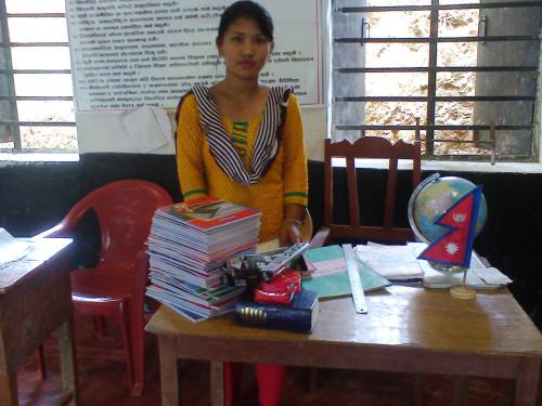 2014-06_Kamala in classroom