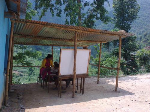 2014-06_Outdoor teaching space