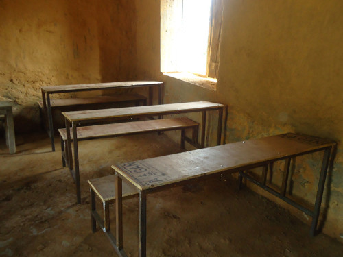 Slide - New school benches