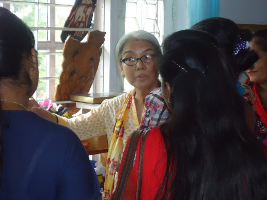 Dr. Bina Gurung with our teachers in Montessori