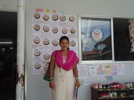 Gita in Kasthamandap school
