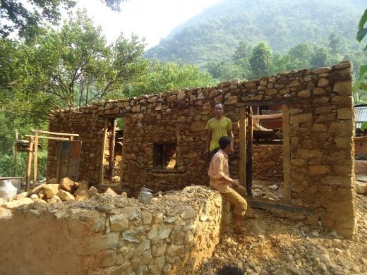 Krishna' house rebuilding