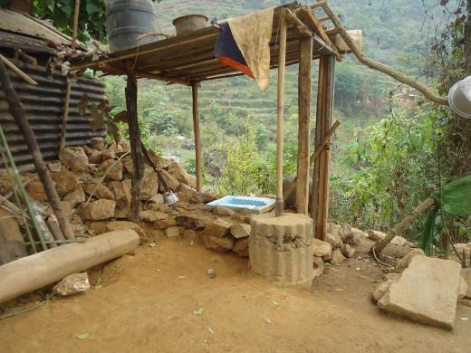 krishna's toilet under construct