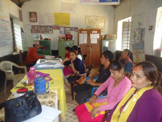 meeting with teachers and SMC
