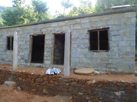 progress of Dhanraj and Shankhaman's house