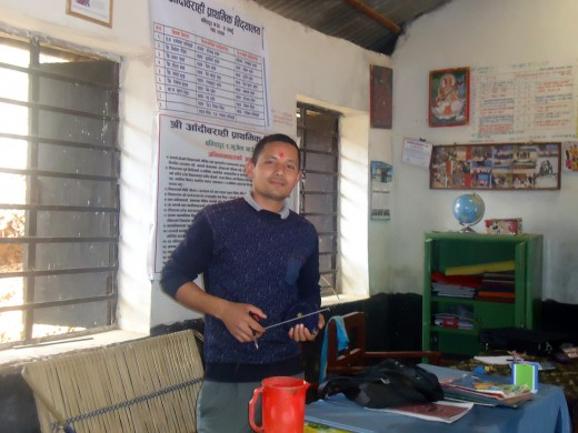 engineer_suman_shrestha_at_school