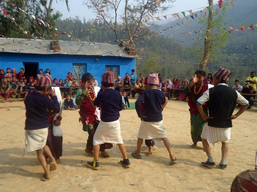 students_presenting_chutka_dance